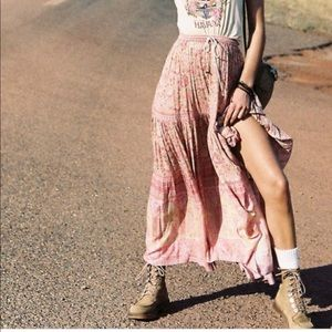 Spell & The Gypsy Collective Poinciana maxi skirt